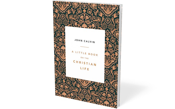 A Little Book on the Christian Life, damask cover